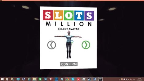 Wählen Sie Ihren Avatar den Sie benutzen möchten bei SlotMillion