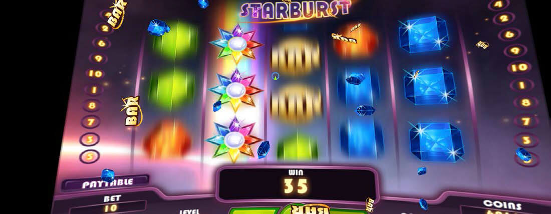 Starburst virtual reality slot machines bei Slots Million