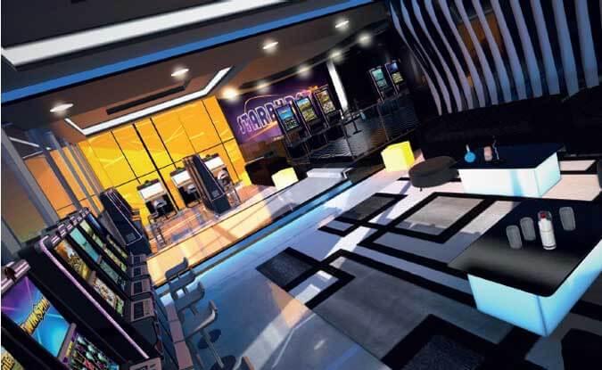 Virtual Reality Casino Lobby
