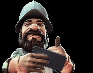 Sogar der neue Spielautomat Gonzo ist in der Slotsmillion Casino App verfügbar
