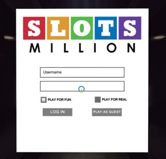 SlotsMillion Anmeldung zum Automatenspielen als Gast oder Echtgeld Spieler