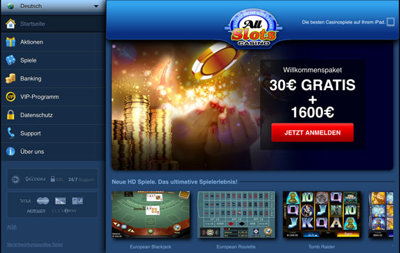 All Slots Mobile Exklusive Bonus Offer