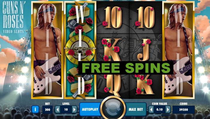 Guns n' Roses-Slots